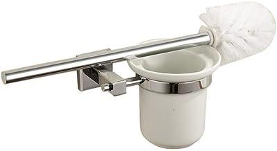 LHQ-HQ Toiletborstelgarnituur European Style Copper Persoonlijkheid Simple Toilet Brush Bathroom muur bevestigde Toiletbor...