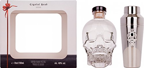 Crystal head Vodka Pack with Shaker