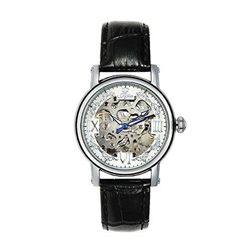 SJXIN Stilvolle Uhr Pratum Nudel-Kürbis-Kopf-automatische Hohle mechanische Uhr-automatische Gurt-mechanische Uhr Modeuhren (Color : 2)