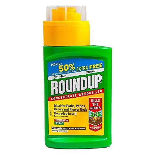 Roundup Optima+ 140ml Plus 50% extra gratis