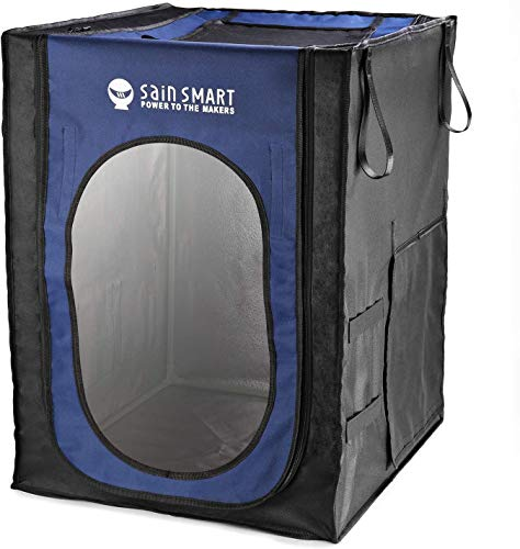 SainSmart Large 3D Printer Enclosure, 20.9'' x 24.2' x 28.9', Dust-Proof Cover Tent, for Ender 3/5, CR-6 SE, with Spare Filament Holder, Tool Pockets and Slots, Constant Temp and Less Noise
