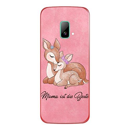 DISAGU SF-sdi-4195_1002 Design Folie für Wiko riff Rückseite - Motiv Mama ist die Beste - rosa