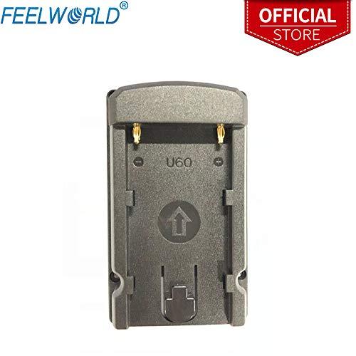 Feelworld U60 Batterie Platte für Kamera Monitor F450 F550 F570 FW759 FW760 FH7 T7 FW703 Kompatibel für Sony BP-U60 Batterie