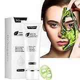 Green Tea Blackhead Mask,Skin Care Remove Acne Mask Natural Healing Clay Gel, Facial Treatment Blackhead Remover Deep Cleansing Mask Peel Off Mask