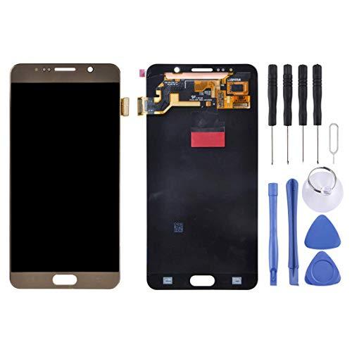 Accessory Kits - Kit de reparación de repuesto para Galaxy Note 5/N9200, N920I, N920G, N920G/DS, N920T, N920A (dorado) (color: dorado)