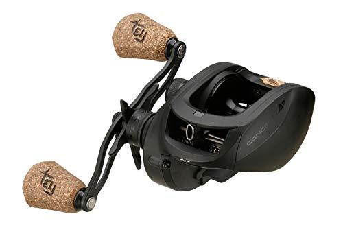 13 FISHING - Concept A23 - Low-Profile Baitcast Fishing Reel - 8.1:1 Gear Ratio - Right Hand Retrieve (300 size) (Fresh+Salt) - CA3-8.1-RH