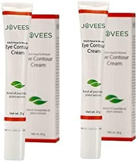 Jovees Eye Contour Cream with Hazel and Almond (20 g)-Pack of 2
