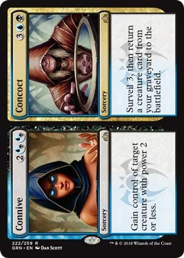 Magic : The Gathering - Connive // Concoct (222/259) - Guilds of Ravnica - Foil
