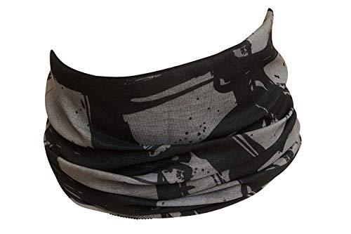 Hilltop Motorrad Halstuch, Multifunktionstuch, Schlauchtuch, Bandana, Schal/die Saumkanten sind vernäht, Farbe/Design:Design 353-13