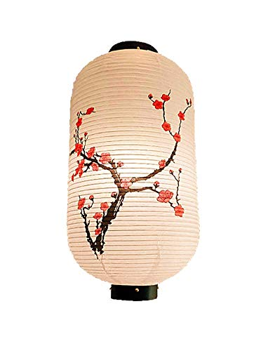 [Pflaumeblume] im chinesischen/japanischen Stil hängende Laterne dekorative Papierlaterne