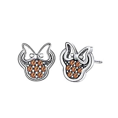 Amazon Promo Code for 925 Sterling Silver stud earrings Elegant Cubic Zirconia 25092021120924