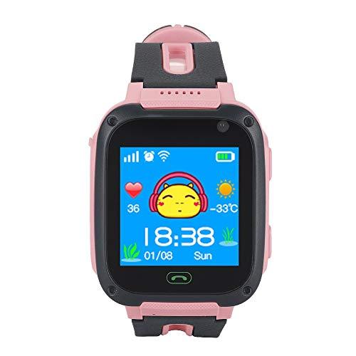 Aeloa Kid Smart Watch Anti verlorene Tracker Safe Touch Screen Kid Kinderuhr Farbe Rosa