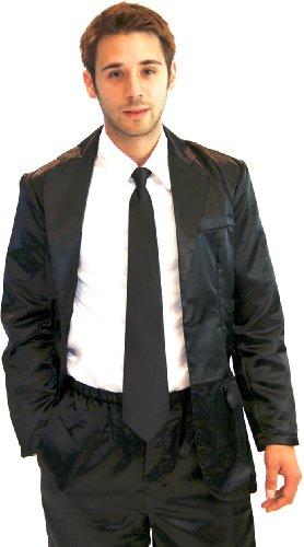 How I Met Your Mother - Traje de pajama de seda gris con camiseta blanca (gris) Negro L