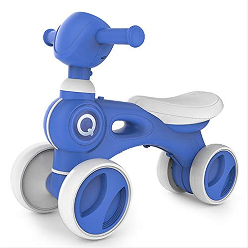 DorisAA-Toys Trotteur Portable Steps vélo Trotteur Jouets Manèges avec Musique légère et Mute Wheels for Les Enfants 1-2 Ans pour Filles Garçons 6-18Months Enfant en Bas âge