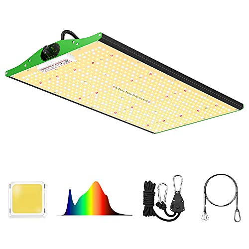 Grow Light, VIPARSPECTRA Newest P2000 LED Grow Light 4x2ft Coverage Full Spectrum LED Grow Lights With Samsung LEDs(Includes IR), Dimmable Plant Light For Indoor Plants Seeding Veg And Bloom
