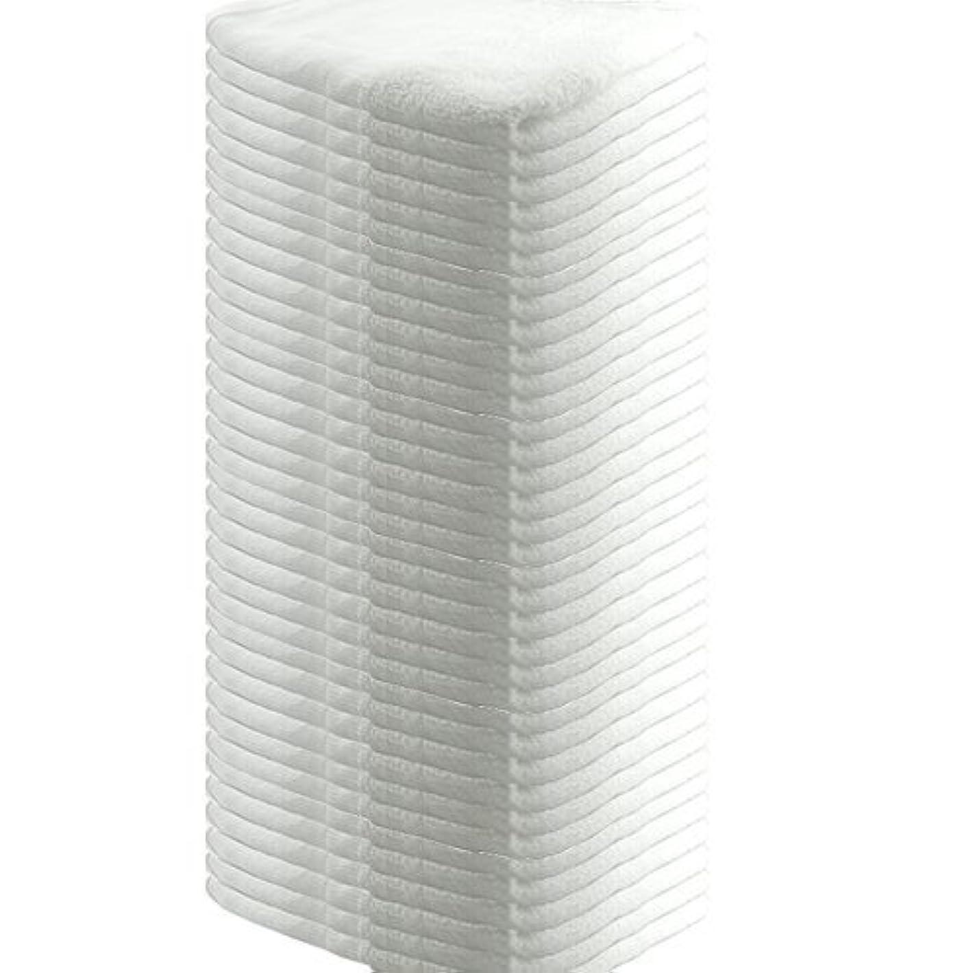 マッシュすべき有彩色の業務用 フェイスタオル 平地付き 綿100% 160匁 34x85cm (36枚セット)