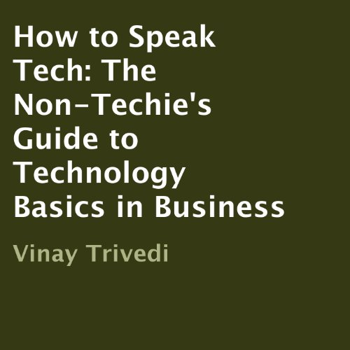How to Speak Tech audiobook cover art
