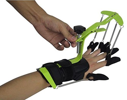 Ajustable Muñeca dedo dinámico órtesis dedo palma de ejercicios ...