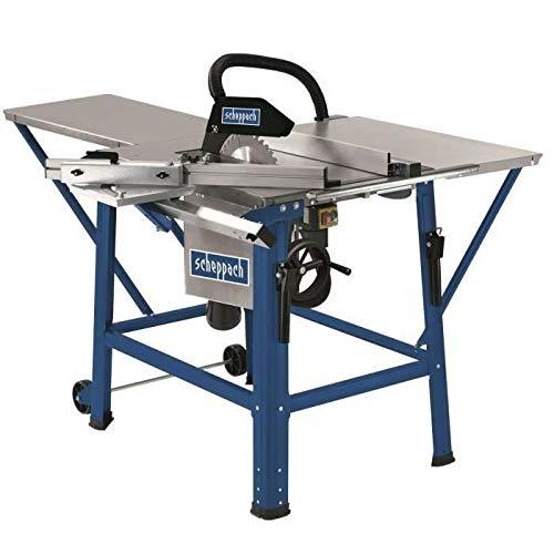 scheppach Tischkreissäge TS310 - 2800 W   Sägeblatt- Ø315mm   Schnitthöhe 83 mm   inkl. Tischverbreiterung, 2. Sägeblatt, Führungsschiene und Schiebeschlitten   schwenkbar bis 45°