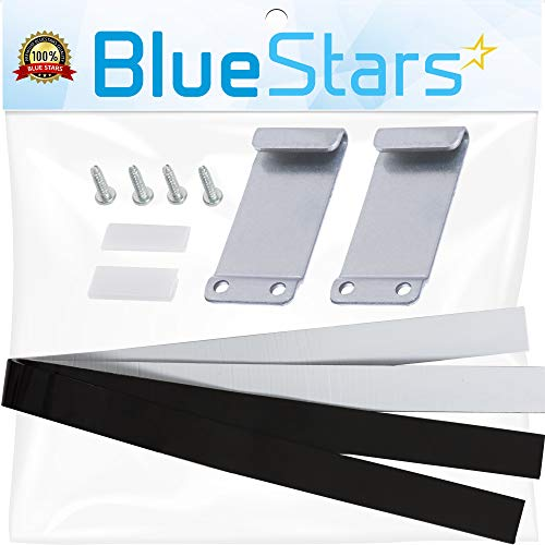 Ultra Durable W10298318RP Stacking Kit by Blue Stars - Exact Fit for Whirlpool Dryers Washers - Replaces W10298318 W10761316 W10869845