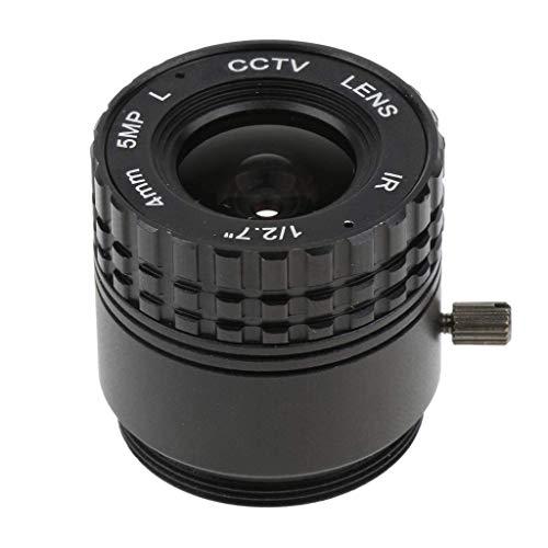 CENPEN 5MP HD de 4 mm diafragma Fijo 78 ° Junta de CCTV IR de la Lente de Gran Angular for cámaras IP CCD