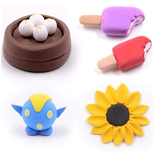 DIY Colored Clay 32 Colors Polymer Clay Creative Street Model Clay Soft Molded Oven Baking Clay Tutorial Best Gift for Children