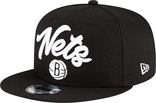 New Era NBA Men's Brooklyn Nets 2020 NBA Draft Alternate 9FIFTY Adjustable Snapback Hat Black