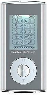 HealthmateForever 10 modos fisioterapia Digital profesional máquina Palma masaje impulso eléctrico portátil Personal Pro Mini cuerpo acción masajeador plata