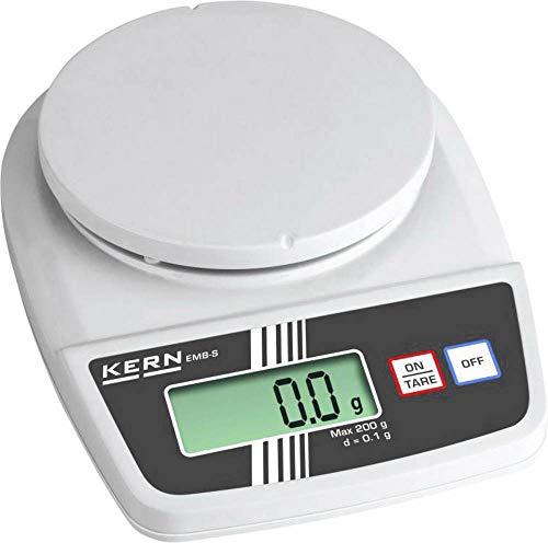 KERN EMB 3000-1S EMB 3000-1S weegschaal (max.) 3 kg leesbaarheid 0,1 g batterij wit grijs 1 stuk