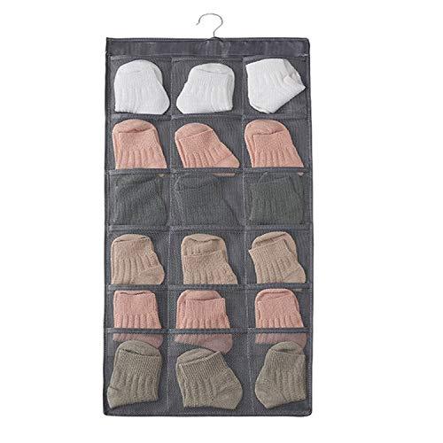 30ポケットウォールポケット 下着収納 壁掛け収納式 吊り下げ 靴下 小物収納 収納ポケット 収納ラック シンプル 収納ハンガー 寝室 収納バッグ サスペンダーバッグ 水洗い可能 大容量