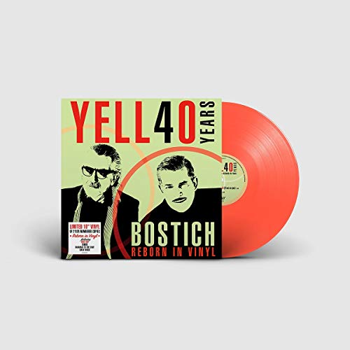Bostich-40 Years of Yello (1980-2020) Ltd,10'' [Vinyl LP]