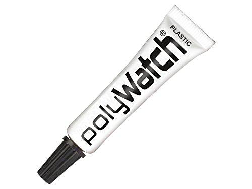 1 x Polywatch Uhrglas Polierpaste, Uhrglas-Polituren für Acrylglas
