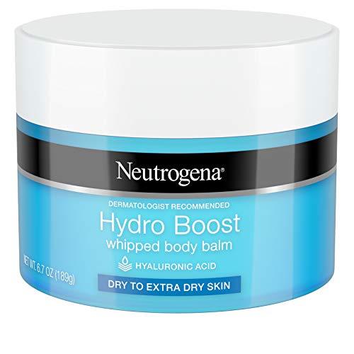 Neutrogena Hydro Boost Baume hydratant pour le corps à l'acide hyaluronique pour peaux sèches à très sèches