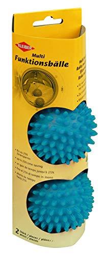 Kleiber + Co.GmbH Multifunktionella bollar, plast, blå, 22 x 10 x 10 cm