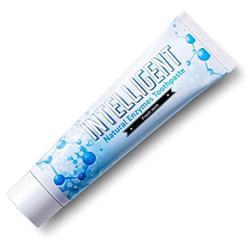 Intelligent Enzymatic Teeth Whitening Toothpaste Best Natural Oral Care for Canker Sore and Dry Mouth SulfateFree FluorideFree NonFoaming Mild Mint 441 Ounce