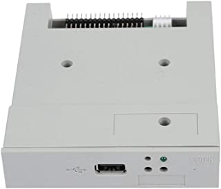 Tangxi SSD Floppy Drive, SFR1M44-U 3.5in 1.44MB USB SSD Floppy Drive Emulator+CD Screws,Plug and Play,Easy to Install,Gray
