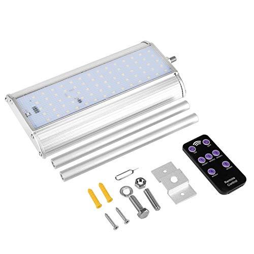 Semiter Luz Solar para jardín, luz Solar LED de 5 Modos de 8 W, luz con Sensor de Movimiento para jardín
