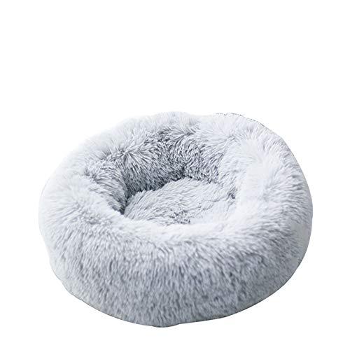 PPQQBB Cama para Perros Cama de Gato Cojón de cojín de Piel sintética Donut Donut Cuddler para Perros Gato Relieve Conjunta y Mejorado para el sueño - Máquina Lavable al AG 100CM