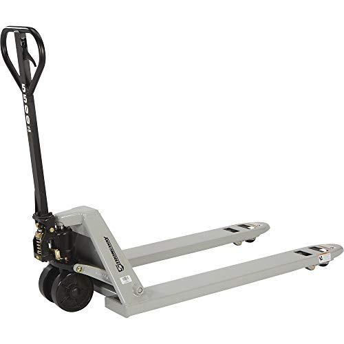 Strongway Pallet Jack - 5500-Lb. Capacity, 61in.L x 27in.W