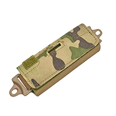 Jadedragon Helmet Accessory balance Pouch Counterweight Kit for OPS FAST/MICH/Tactical Helmet (CP)