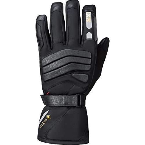 IXS Motorradhandschuhe lang Motorrad Handschuh Sonar-GTX 2.0 Tour Handschuh schwarz S, Herren, Tourer, Ganzjährig, Leder