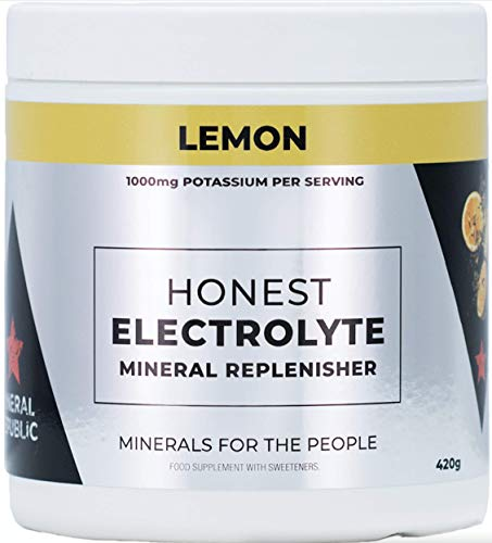 Potassium Electrolyte powder for Keto/IF or OMAD. 1000Mg Potassium, 120mg Calcium 120mg Magnesium & 200Mg Himalayan Salt per serving, 60 servings per pot