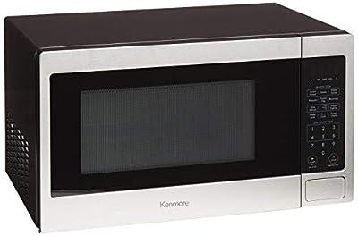 Kenmore 71313 Countertop Microwave, 1.3 cu ft, Stainless Steel