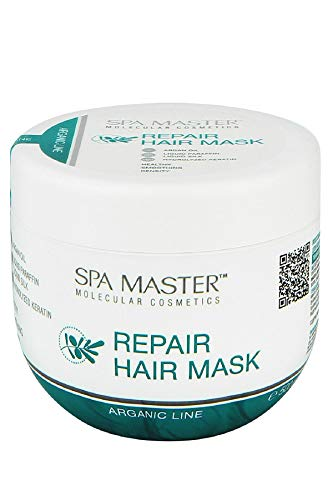 Spa Master professionnel Masque réparateur pour cheveux avec de l'huile d'argan