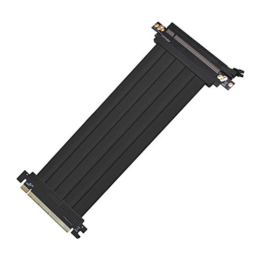 EZDIY-FAB All New PCI Express 16x Flexibles Kabel Karten Verlängerung Port Adapter High Speed Riser Card-20cm 180 Degree-Upgrade Version