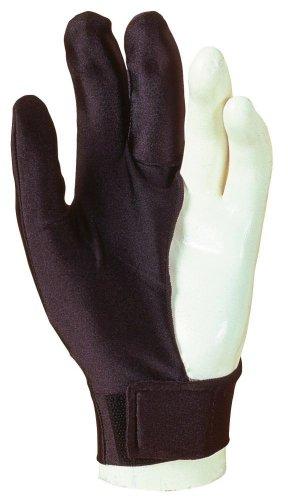 Billardhandschuh Laperti mit Klettverschluß, zwei Größen L, M, Größe:M - medium