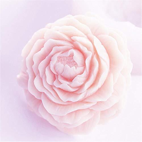 Fleur 3D Savon Moule Gâteau De Silicone Moule De Bricolage Artisanat Pivoine Savon Faire Des Moules