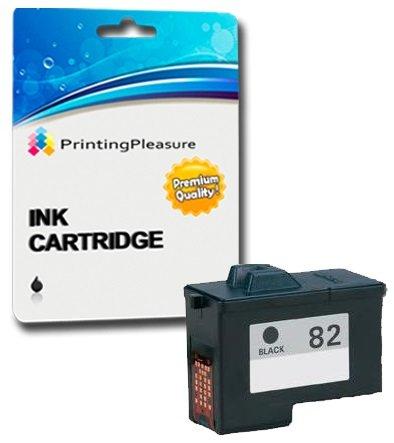SCHWARZ Druckerpatrone für Lexmark X5100, X5130, X5150, X5190, X5200, X6100, X6150, X6170, X6190 Pro, X65, Z55, Z55se, Z65, Z65n, Z65p | kompatibel zu Lexmark 82