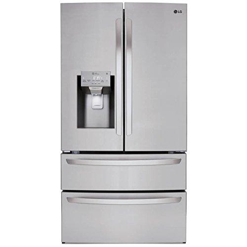 LG LMXS28626S 28 cu.ft. 4-Door French Door Refrigerator - Stainless Steel