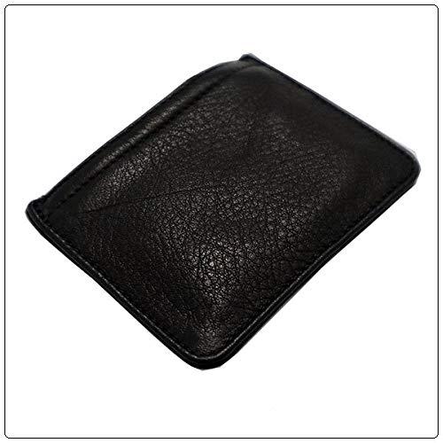クロムハーツジッパーチェンジパース3×4ブラックレザーメンズ(小銭入れ)(コインケース)